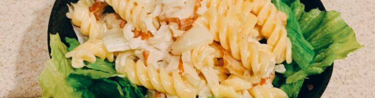 マカロニサラダ(チーズレモン)
