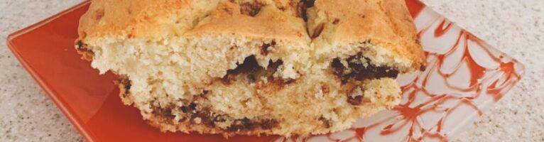 しっとりチョコばななのパウンドケーキ