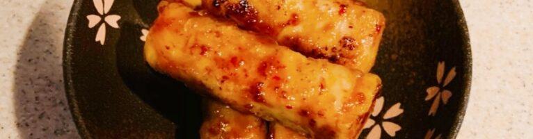 お弁当用 高野豆腐の肉巻き