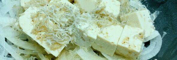 豆腐ジャコサラダ